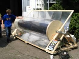 rotating solar boiler