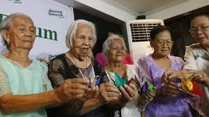 Comfort Women In Philippines Filipino Comfort Women Seek Talks With Japan U0027s Emperor Japan