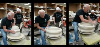 Check Out My 80 Pottery The Art Of Throwing Pottery On A Kick Wheel Joel Cherrico Pottery