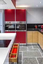 kitchen design cheshire wonderful red kitchen cabinets combine with wall color paint