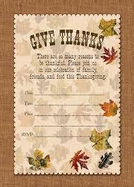 thanksgiving potluck invitations happy thanksgiving
