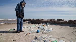 trash on our beaches started with us and it must end with us