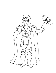 Thor Coloring Pages To Print Images Pictures 28098 Thor Coloring Page