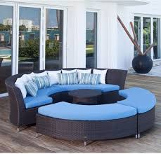 best curved outdoor sectional sofa lovable round patio sectional