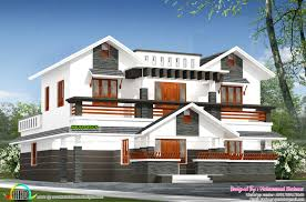 1300 Square Foot House Plans 2300 Sq Ft Mix Roof House Plan Kerala Home Design Bloglovin U0027