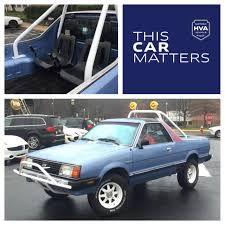 brat subaru lifted historic vehicle association thiscarmatters because it u0027s a 1982