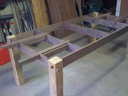 table with slide out leaves how are the leaves done woodworking talk woodworkers forum