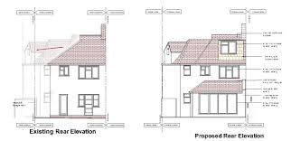 Loft Conversion Floor Plans Double Storey Extension Loft Conversion In New Malden