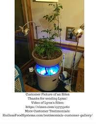 eden mini garden small aquapoinic system indoor outdoor