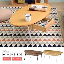 oval depth and table atom style rakuten global market table fashion desk north europe