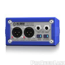 klark teknik dn200 active stereo di box extended dynamic range and