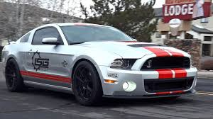 mustang shelby modified ford mustang shelby gt 500 sound youtube