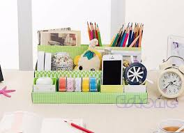 Diy Desk Organizer Ideas Diy Desk Organizer Tray Ideas