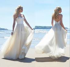 flowing wedding dresses cheap dresses flowing chiffon backless