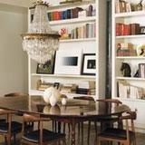 bookshelves in dining room in good company dining rooms with beautiful bookshelves kitchn