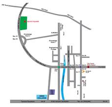 Blue Line Delhi Metro Map by Supertech Sports Republik Noida Extension Greater Noida West