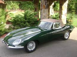 antique jaguar 1967 jaguar e type series ii roadster finished in british racing