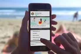 Maps For Business Cards Snapchat U0027s New Context Cards Let You Book Reservations And More
