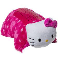 Dream Furniture Hello Kitty by Dream Lites Dlkitty Mc4 Pillow Pets Plush Night Light Hello Kitty