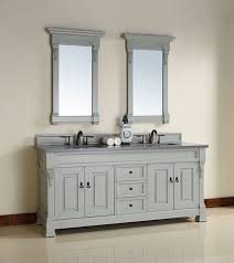 72 Inch Bathroom Vanities Martin Brookfield 72 Inch Gray Transitional