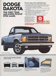 1987 dodge dakota 4x4 report dodge dakota production set to end this month