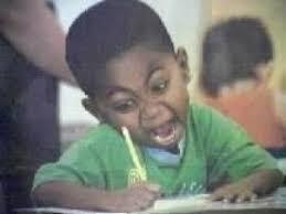 Black Kid Writing Meme - writing kid blank template imgflip