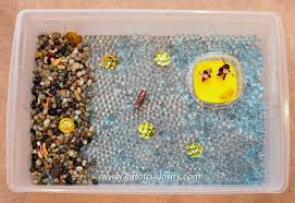 pirate sensory bin and small world play gift of curiosity