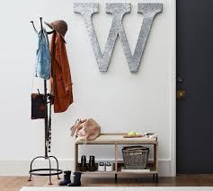 Decorative Clothes Rack Australia by Cast Metal Standing Coat Rack Pottery Barn Au