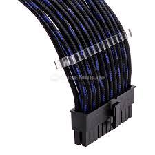 Blau Schwarz Muster Phanteks Verl磴ngerungskabel Set 500mm S Muster Schwarz Blau