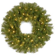 pre lit wreaths cordless pre lit battery operated garland with timer