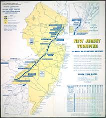 4 Corner States Map by New Jersey Historical Maps