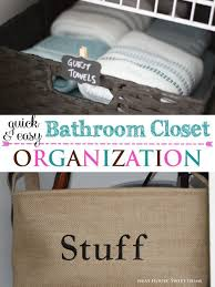 Bathroom Closet Organization Bathroom Closet Organization Free Printable Labels