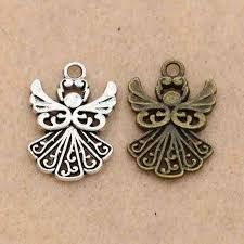 necklace making accessories images Buy kjjewel fairy angel charm pendant fit jpg
