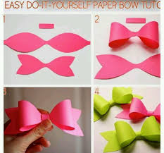 paper ribbon make this out of construction paper instead of buying ribbon