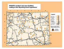 Wyoming Road Map Maps