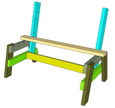 Plans To Make A Park Bench by Best 25 Wooden Bench Plans Ideas On Pinterest Diy Bench Bench