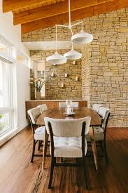 Dining Room Floor 15 Gorgeous Dining Rooms With Stone Walls