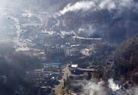 Tennessee forest images Photos forest fires loom outside gatlinburg tennessee jpg