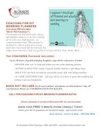 wedding planner packages wedding planning packages