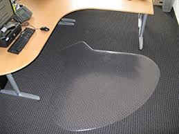 Computer Desk Floor Mats Workstation Desk Chair Mats 54 X 60 Carpet Chair