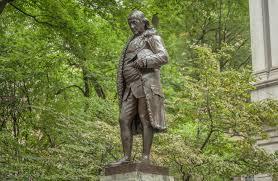boston tour guide the inauguration of the benjamin franklin statue walking boston