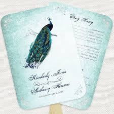 peacock wedding programs peacock wedding peacock bridal tank top peacock feather