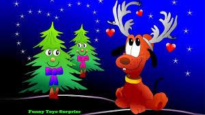 o christmas tree carol children song cartoon animation nursery