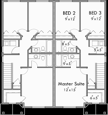 floor plan 3 bedroom house duplex house plans 2 story duplex plans 3 bedroom duplex plans