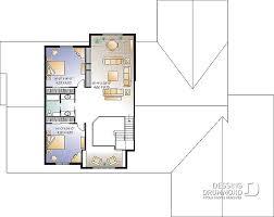 plan de maison a etage 5 chambres plan de maison unifamiliale l américaine w3600 dessins drummond