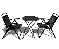 Black Metal Bistro Chairs Strong Camel Bistro Set Patio Set Table And Chairs