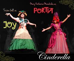 portia s joy and portia character poster for briarwood high school s