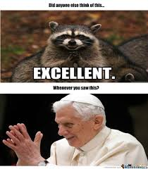 Evil Raccoon Meme - they look like twins evil dastardly twins by jetcera