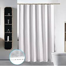 amazon com clear plastic shower curtain liner heavy duty