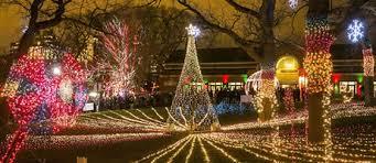 brookfield zoo winter lights top ten santa events in chicagoland